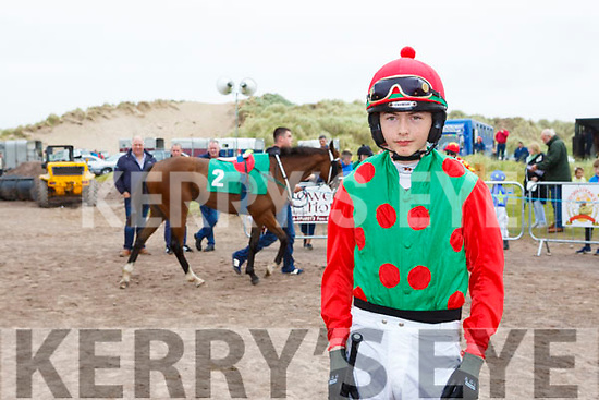 Jockey Ben Kennedy Dingle at the Rossbeigh races on Sunday