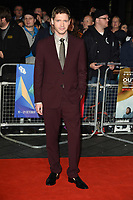 "Billy Howle<br /> arriving for the London Film Festival screening of ""Outlaw King"" at the Cineworld Leicester Square, London<br /> <br /> ©Ash Knotek  D3446  17/10/2018"