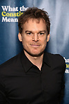"Michael C. Hall attends the Broadway Opening Night Performance After Party for  ""What The Constitution Means To Me"" at Ascent Lounge on March 31, 2019 in New York City."