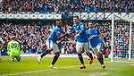 11.3.2018: Rangers v Celtic:<br /> Josh Windass celebrates his goal