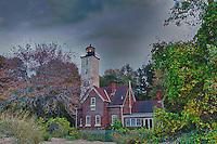 Presque Isle Lighthouse, Presque Isle State Park, Erie, Pennsylvania