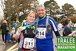 Brenda O' Keefee 311, Paul Margelino 214, who took part in the Kerry's Eye Tralee International Marathon on Sunday 16th March 2014.