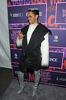 NEW YORK, NY - JANUARY 25: Sharaya J at the Essence 9th annual Black Women in Music event at the Highline Ballroom on January 25, 2018 in New York City. Credit: John Palmer/MediaPunch