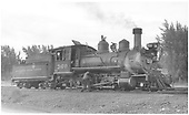 3/4 engineer's-side view of D&amp;RGW #360 on the Montrose ready track.<br /> D&amp;RGW  Montrose, CO
