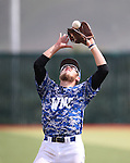 Western Nevada's Josh Mill makes a play against College of Southern Nevada at Western Nevada College in Carson City, Nev. on Friday, May 6, 2016. <br />Photo by Cathleen Allison/Nevada Photo Source