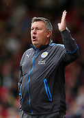30th September 2017, Vitality Stadium, Bournemouth, England; EPL Premier League football, Bournemouth versus Leicester; Leicester Manager Craig Shakespeare shouts instructions to his players