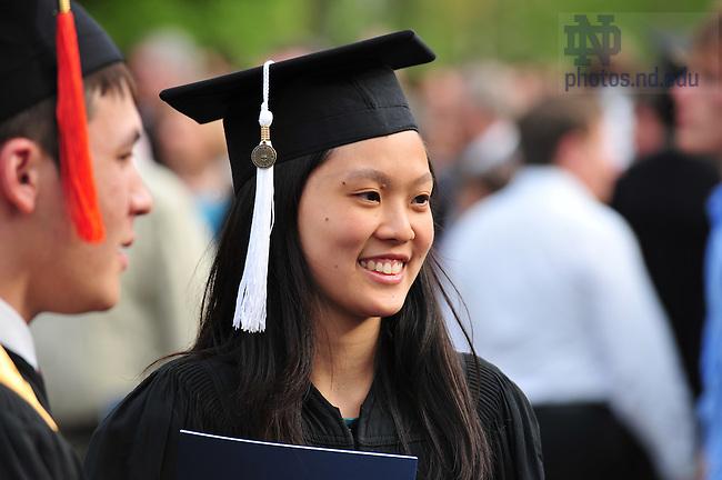Commencement 2008..Photo by Matt Cashore/University of Notre Dame