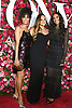 Donna Summer's children Brooklyn Sudano, Amanda and Mimi   arrives at The 72nd Annual Tony Awards on June 10, 2018 at Radio City Music Hall in New York, New York, USA. <br /> <br /> photo by Robin Platzer/Twin Images<br />  <br /> phone number 212-935-0770