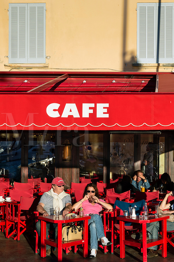 Cafe Senequier, Saint Tropez, France