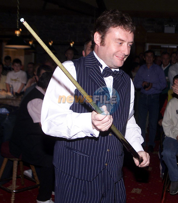 Jimmy White in Drogheda..Picture: Paul Mohan/Newsfile