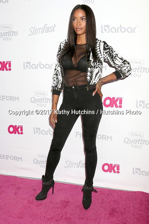 LOS ANGELES - MAY 17:  Veronika Obeng at the OK! Magazine Summer Kick-Off Party at the W Hollywood Hotel on May 17, 2017 in Los Angeles, CA