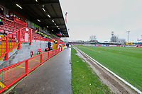 General view of the ground ahead of Crawley Town vs Carlisle United, Sky Bet EFL League 2 Football at Broadfield Stadium on 15th February 2020
