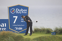 Jon Rahm (ESP) on the 7th tee during Round 2 of the Irish Open at LaHinch Golf Club, LaHinch, Co. Clare on Friday 5th July 2019.<br /> Picture:  Thos Caffrey / Golffile<br /> <br /> All photos usage must carry mandatory copyright credit (© Golffile | Thos Caffrey)