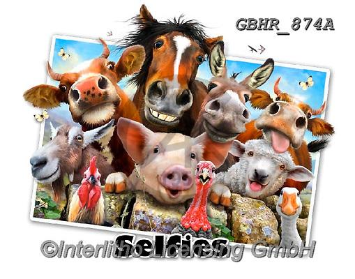 Howard, SELFIES, paintings+++++,GBHR874A,#Selfies#, EVERYDAY ,horses