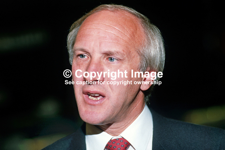 David Clark, MP, Labour Party, UK, 19870926DC.<br />