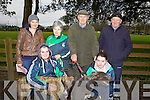 Winners at the annual coursing meet last Saturday in Newcastlewest were Langville and Blue Gate Jack pictured with Jacqueline Sheehan(Barna), Siobhan McCourt(Abbeyfeale), Chris and John Sheehan(Barna), Sinead McCourt(Abbeyfeale) and Jerry Sheehan(Abbeyfeale).