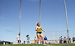 FARGO, ND - MAY 13: Katelyn Weimerskirch from North Dakota State University watches where the discus lands en route to winning her 4th consecutive discus championship Saturday at the 2017 Summit League Outdoor Track Championship at the Ellig Sports Complex in Fargo, ND. (Photo by Dave Eggen/Inertia)