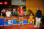 12 MAR 2016:  Harrison Williams of Stanford University poses with a trophy during the Heptathlon awards presentation during the Division I Men's Indoor Track & Field Championship held at the Birmingham Crossplex in Birmingham, Al. Tom Ewart/NCAA Photos
