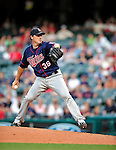 5 September 2009: Minnesota Twins' relief pitcher Joe Nathan on the mound against the Cleveland Indians at Progressive Field in Cleveland, Ohio. The Twins defeated the Indians 4-1 in the second game of their three-game weekend series. Mandatory Credit: Ed Wolfstein Photo