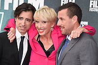 "director, Noah Baumbach, Emma Thompson and Adam Sandler<br /> arriving for the London Film Festival 2017 screening of ""The Meyerowitz Stories"" at the Embankment Gardens Cinema, London<br /> <br /> <br /> ©Ash Knotek  D3319  06/10/2017"