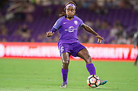 Orlando, FL - Saturday August 05, 2017: Chioma Ubogagu during a regular season National Women's Soccer League (NWSL) match between the Orlando Pride and the Chicago Red Stars at Orlando City Stadium.