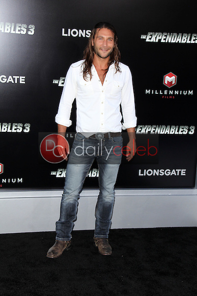 Zach McGowen<br /> at &quot;The Expendables 3&quot; Los Angeles Premiere, TCL Chinese Theater, Hollywood, CA 08-11-14<br /> David Edwards/Dailyceleb.com 818-249-4998