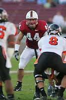 18 November 2006: Pat Maynor during Stanford's 30-7 loss to Oregon State at Stanford Stadium in Stanford, CA.