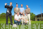 Members of Legion GAA club who are holding a golf classic in aid of the club in Laccabawn Golf Course on the 27th June l-r  Ted Healy teeing off, Kneeling Tom Lyne, John O'Callaghan, standing: Cathal O'Grady, Peter O'Leary and John Culloty.   Copyright Kerry's Eye 2008
