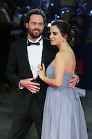 Drake Doremus and Sasha Kozlov attend the red carpet for the premiere of the movie 'Equals' during 72nd Venice Film Festival at Palazzo Del Cinema in Venice, Italy, September 5.<br /> UPDATE IMAGES PRESS/Stephen Richie