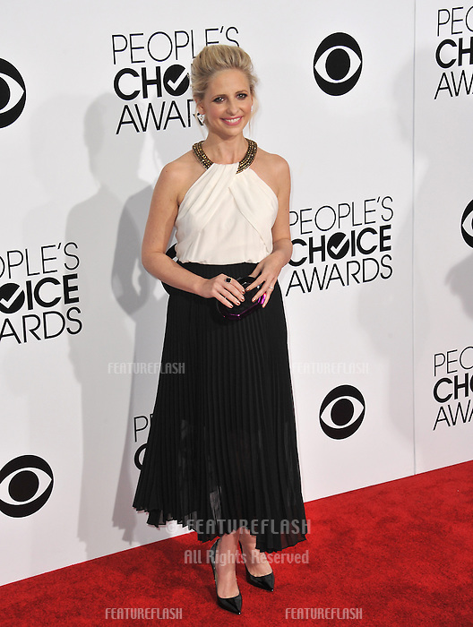 Sarah Michelle Geller at the 2014 People's Choice Awards at the Nokia Theatre, LA Live.<br /> January 8, 2014  Los Angeles, CA<br /> Picture: Paul Smith / Featureflash