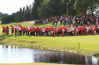 The Volunteers on the 18th during Round 4 of Made in Denmark at Himmerland Golf &amp; Spa Resort, Farso, Denmark. 27/08/2017<br /> Picture: Golffile | Thos Caffrey<br /> <br /> All photo usage must carry mandatory copyright credit     (&copy; Golffile | Thos Caffrey)