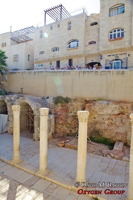 Excavated Market Place Old City, Jerusalem