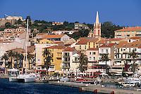 Europe/France/Corse/2B/Haute-Corse/Balagne/Calvi: Le port et le quai Landry