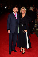 www.acepixs.com<br /> <br /> February 21 2017, London<br /> <br /> Hugh Bonneville (L) and Lulu Williams arriving at the UK premiere of 'Viceroy's House' at The Curzon Mayfair on February 21, 2017 in London, England.<br /> <br /> By Line: Famous/ACE Pictures<br /> <br /> <br /> ACE Pictures Inc<br /> Tel: 6467670430<br /> Email: info@acepixs.com<br /> www.acepixs.com