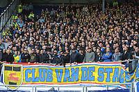 VOETBAL: HEERENVEEN: Abe Lenstra Stadion 01-11-2015, SC Heerenveen - SC Cambuur, uitslag 2-0, Cambuurpubliek, ©foto Martin de Jong