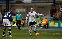 John Fleck of Sheffield United on the ball during the Sky Bet Championship match between Millwall and Sheff United at The Den, London, England on 2 December 2017. Photo by Carlton Myrie / PRiME Media Images.