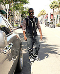 May 25th 2012 ..Ray J smiling walking in Beverly Hills with friends & family getting into Rolls Royce car ....AbilityFilms@yahoo.com.805-427-3519.www.AbilityFilms.com