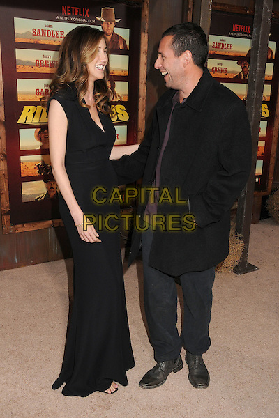 30 November 2015 - Universal City, California - Jackie Sandler, Adam Sandler. &quot;The Ridiculous 6&quot; Los Angeles Premiere held at the AMC Universal CityWalk Stadium 19. <br /> CAP/ADM/BP<br /> &copy;BP/ADM/Capital Pictures