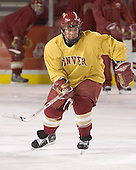Gabe Gauthier - Reigning national champions (2004 and 2005) University of Denver Pioneers practice on Friday morning, December 30, 2005 before hosting the Denver Cup at Magness Arena in Denver, CO.