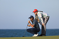 Clement Sordet (FRA) during the final round of the Oman Open, Al Mouj Golf, Muscat, Sultanate of Oman. 03/03/2019<br /> Picture: Golffile | Phil Inglis<br /> <br /> <br /> All photo usage must carry mandatory copyright credit (&copy; Golffile | Phil Inglis)