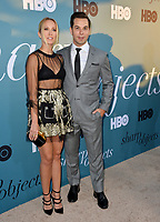 Anna Camp &amp; Skylar Astin at the premiere for the HBO series &quot;Sharp Objects&quot; at the Cinerama Dome, Los Angeles, USA 26 June 2018<br /> Picture: Paul Smith/Featureflash/SilverHub 0208 004 5359 sales@silverhubmedia.com