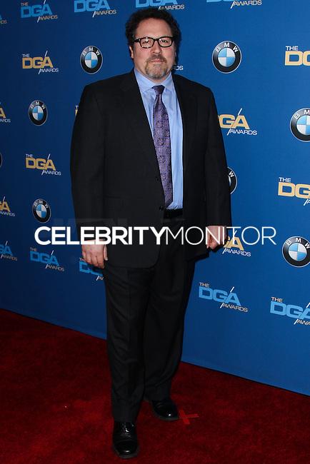 CENTURY CITY, CA - JANUARY 25: Jon Favreau at the 66th Annual Directors Guild Of America Awards held at the Hyatt Regency Century Plaza on January 25, 2014 in Century City, California. (Photo by Xavier Collin/Celebrity Monitor)
