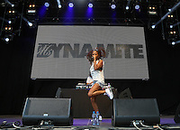 Ms Dynamite (Niomi Arleen McLean-Daley) performs during The New Look Wireless Music Festival at Finsbury Park, London, England on Friday 03 July 2015. Photo by Andy Rowland.