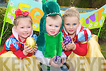 Pictured at the Easter Egg hunt in the Ballygarry house Hotel on Sunday morning were Hannah Mather, Sean Flahive and Caoimhe Flahive.