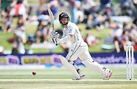 23rd November 2019; Mt Maunganui, New Zealand;  BJ Watling batting during play on Day 3, 1st Test match between New Zealand versus England. International Cricket at Bay Oval, Mt Maunganui, New Zealand.  - Editorial Use