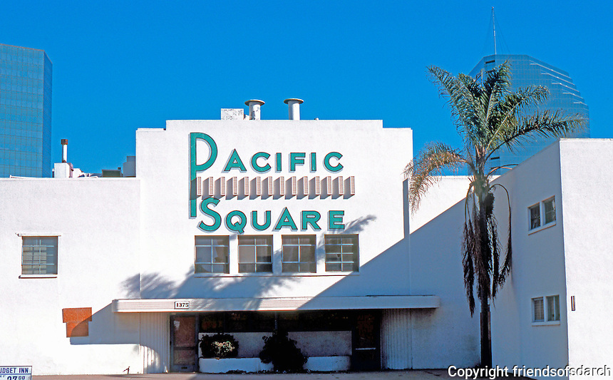 San Diego: The old Pacific Square Ballroom, before its 1988 destruction.