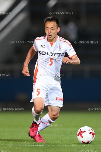 Ibuki Fujita (Ehime FC), <br /> MAY 3, 2017 - Football / Soccer : <br /> 2017 J2 League match <br /> between Yokohama FC 4-0 Ehime FC <br /> at NHK Spring Mitsuzawa Football Stadium, Kanagawa, Japan. <br /> (Photo by YUTAKA/AFLO SPORT)