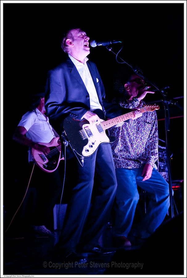 Mick Jones &amp; Don Letts -<br /> <br /> Big Audio Dynamite perform at the Shepherds Bush Empire on the 2nd April 2011