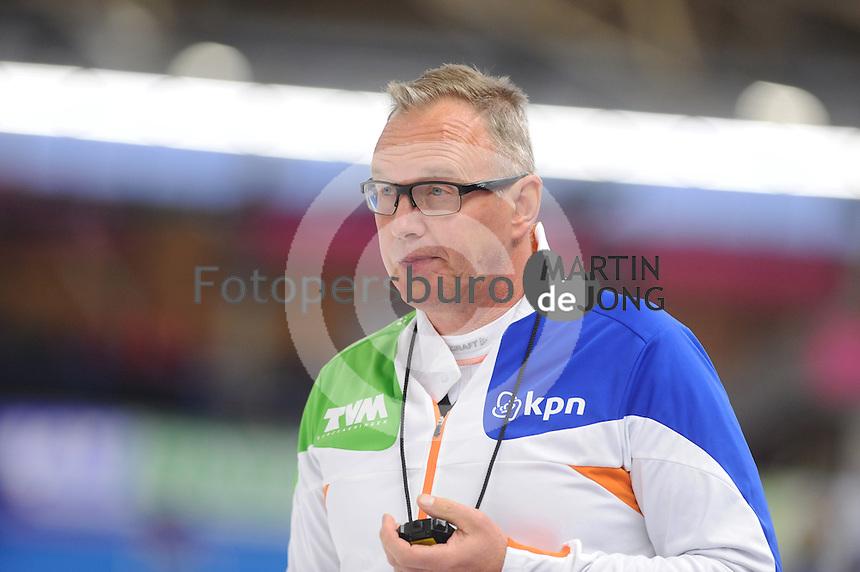 SCHAATSEN: Geert Kuiper, Geert Kuiper nieuwe bondscoach van de Team Pursuit en de Mass Start, ©foto Martin de Jong