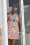 Motorsports / Formula 1: World Championship 2008, GP of Europe, .singer Raquel del Rosario Macias, girlfriend of 05 Fernando Alonso (ESP, ING Renault F1 Team)